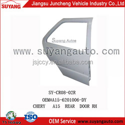 CHERY A15 metal rear door car accessories car body parts