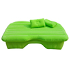 cheap inflatable green back seat car bed for sale, inflatable air mattress
