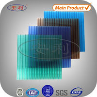 Customized corrugated pc plastic roofing prices