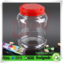 1 gallon containers food grade,wholesale 1 gallon plastic bottle with handle lid