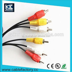 1.8m audio video AV cable cable video jack rca for multimedia