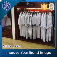 men's t-shirt clothes retail shop display stand simple design men clothes floor cabinet stand