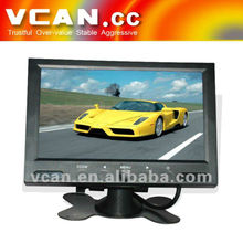 "Promotion US$19 for 7"" car lcd monitor monitor monitor del lcd de 5 pulgadas"