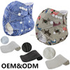 Ohbabyka hot sale baby care products reusable minky molfix diapers