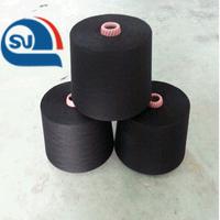 high quality 100% ring spun polyester for socks