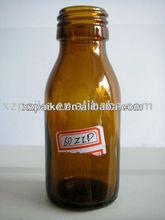 De alta calidad de wild- boca de color marrón de la medicina botella de vidrio para venta al por mayor