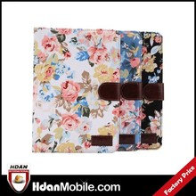 Factory price for ipad mini 3 leather case,for ipad mini 3 flower pattern case,for ipad mini 3 case design