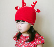 Z51867B Latest Design Baby Girls Promotional Christmas Red Santa hat