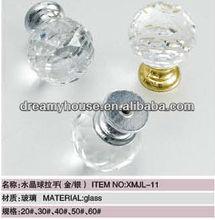 glass knob crystal ball knob