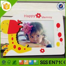 Brand new beauty baby 12 month wood photo frame for wholesales