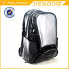 shiny vinyl pu leather backpack bag with shoes compartment