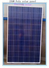 high quantity best price 250w solar panel in india