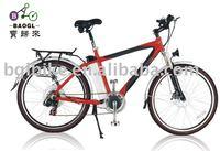 """BGL ECB05 26"""" electric city bike battery operated bikes in india"""