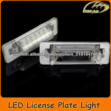 [H02016] LED Luz de la matrícula for Mercedes-BENZ W210(4D) W202(4D) Facelift license plate light