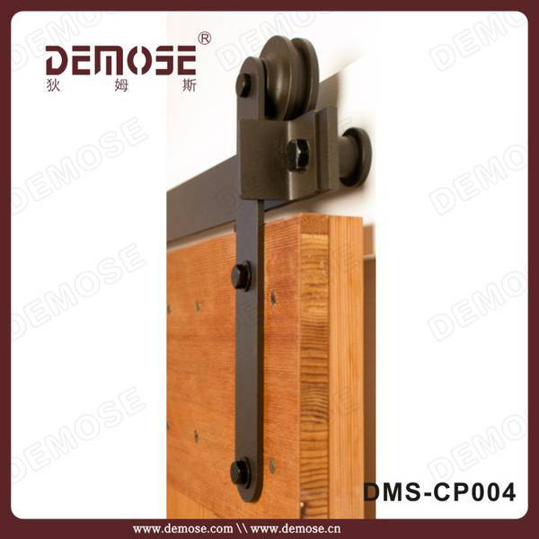 Cheap wood barn door hinges fitting view wood barn door for Cheap barn door hardware