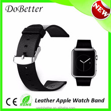 In stock wholesale price colorful leather watch band for apple watch iwatch 38mm 42mm