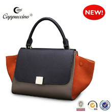 2015 made in china wholesale famous branded designer ladies genuine leather handbags fashion