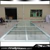 New Arrival glass Stage With Plexiglass Platform Riser