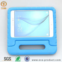 """Handle stand eva foam shockproof 9.7"""" android tablet case for samsung tab a"""
