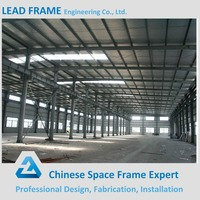 Low cost prefab warehouse light construction steel building