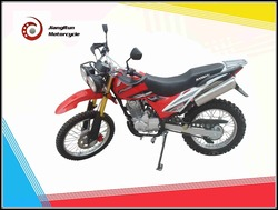 Two wheels and Single-cylinder 200cc Charmer high configuration motorcoss / street dirt motorcycle on sale