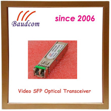 1.485Gbps Video SFP fiber optic module with 1310nm FP laser