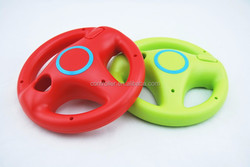 Red / Green Mario Kart Racing Games Steering Wheel for Nintendo Wii Remote Game