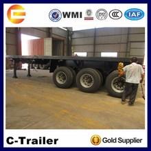 china sale 3 axle trailer truck 40 tons