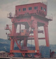 Gantry crane for hydroelectric power station