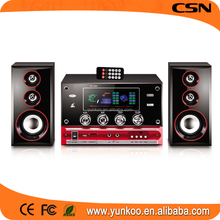 supply all kinds of 2.1 home cinema system,active speaker 2.1 multimedia usb