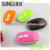 Flat Driver USB 3D Optical Mouse Fashionable Design