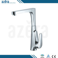 China New Modern Designs Durable Water Ridge Brass Kitchen Faucet