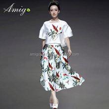 Novo produto tribal de impressão vestidos vestuário ações