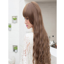Classic Fashion Women Lady Long Curly Wavy Hair Full Wigs Cosplay Party wig
