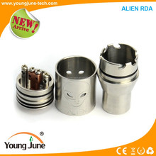 High Imitation Alien RDA e cigarette with nice design and big vapor