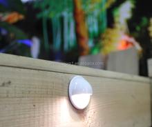 half moon 12 volt stainless steel 1W led lighting home/led stair light