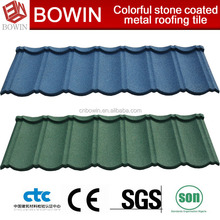 metal roofing /metal building material /red metal roof tile