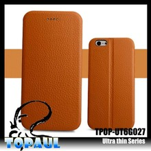 Hot Luxury Leather Case For Samsung , For Galaxy Note 4 Ultra Thin Leather Protective Case