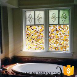 Home Glass Film Window Decorative Window Sticker Static Glass Window Film Mosaic Frosted PVC Film No glue 45*90cm