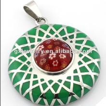 Fashion stainless steel pendant charms