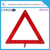 Mini Emergency Road Kit Warning Triangle With Iron Stand