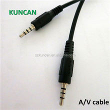 High quality AV vga rca male to male cable DC cable factory price