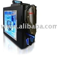 NZXT Nemesis Elite CS-NT-NEM-EL-B Aluminum ATX Mid Tower Computer Case (Black)
