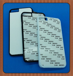 Blank Sublimation phone cases with metal insert, For iPhone 6S Sublimation case
