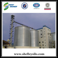 big capacity cottonseed silo with flat bottom