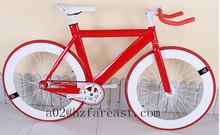 full aluminum 700C fixed gear road bicycle coaster brake foot brake in stock OEM Manufacturer
