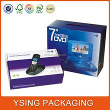 Custom Corrugated Cardboard Portable DVD Shipping Case