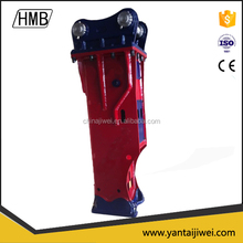 building renovation ISO9001/CE high quality korean Soosan box/silence type hydraulic hammer for back hoe