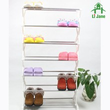 Home design outdoor funiture elegant plastic shoe rack /shoe storage