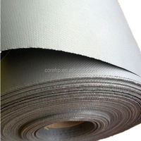 silicon coated fiberglass fabricfor anti heat fire blanket